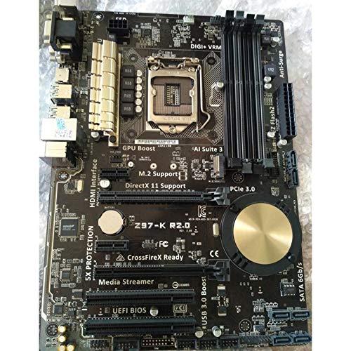 GUOQING Placa Base de Escritorio Usado ASUS z97-k r2.0 Placa Base de Escritorio Z97 Socket LGA 1150 i7 i5 i3 DDR3 32G SATA3 ATX Tarjeta Madre