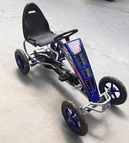 PEKECARS Kart A Pedales F8-1 Azul