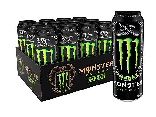 Monster Energy Import Energy Drink 186 Ounce Pack of 12