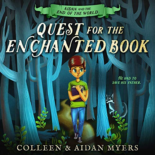 Quest for the Enchanted Book audiobook cover art