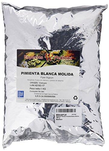 PIMIENTA BLANCA MOLIDA 250 G