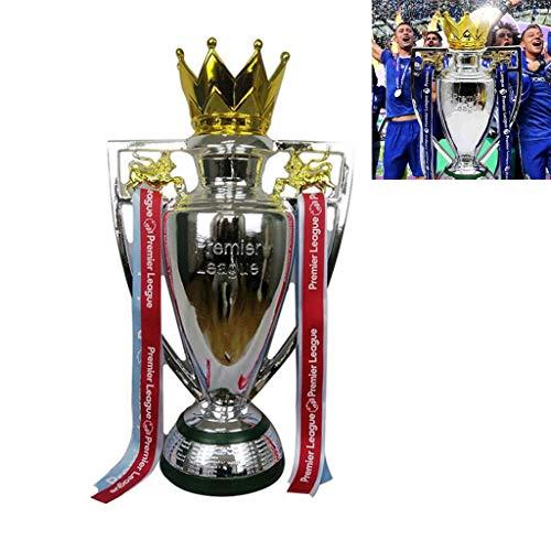 ZYAM Trofeo Premier League Liverpool Chelsea Manchester City Ventiladores Suministros Cinta roja Fanáticos del fútbol Recuerdo artesanía galvanoplastia Resina Modelo Copa de Partido Réplica de fútbol