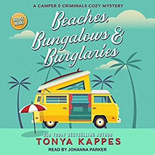 Beaches, Bungalows & Burglaries audiobook cover art
