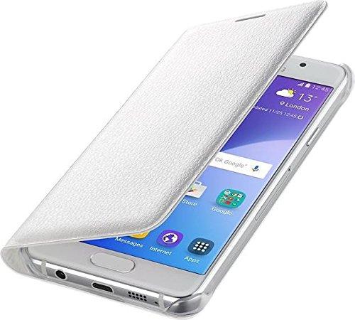 Samsung Flip Wallet Schutzhülle (geeignet für Galaxy A3 (2016)) weiß