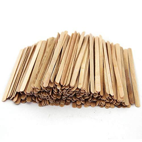 Extiff Rührstäbchen aus Holz, 11 cm – Rührstäbchen für Kaffee Tee (2000)