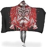Twelve constellations Manta de murciélago con capucha personalizable, ideal para la pausa del almuerzo, para adultos/mujeres/hombres, regalo blanco, 130 x 150 cm
