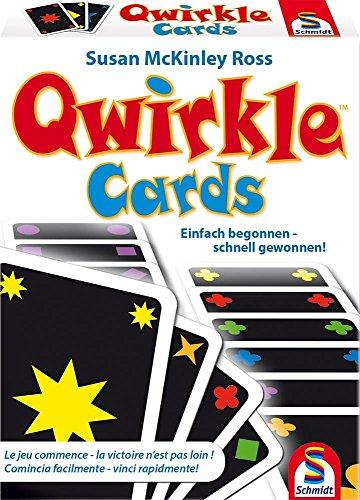 Schmidt Spiele- Jeu Qwirkle Cartes, 75034