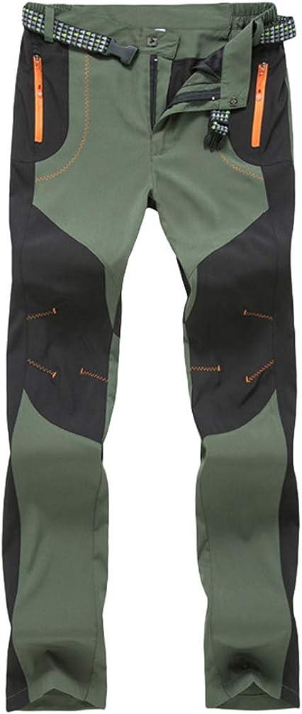 YOUJIA Adultos Pantalones de Softshell Resistente al Viento ...
