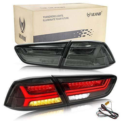 VLAND LED Luce posteriore per Lancer EVO X 2008-2018 Blocchi fari posteriori con Dynamic