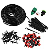 Watering Kits - 25m Diy Drip Irrigation System Automatic Watering Garden Hose Mini Kits With Adjustable Drippers 7mm - Kits Watering Watering Kits Drip System Garden Hose Plant Water Irrig