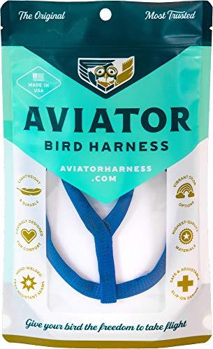 Le AVIATOR Oiseau Harnais: Mini Bleu