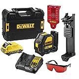 Dewalt DCE088D1R DCE088D1R-QW Laser en Croix Faisceaux Rouge Compatible Plateforme 10.8V 2.0Ah-DCE088D1R, Autre