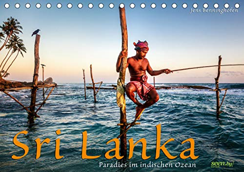 Sri Lanka - Paradies im indischen Ozean (Tischkalender 2021 DIN A5 quer)