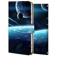 iPhone se2 ケース 手帳型 第2世代 アイフォン se2 カバー スマホケース おしゃれ かわいい 耐衝撃 花柄 人気 純正 全機種対応 宇宙-太陽系の星10 宇宙 14461884