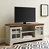 Modway Pacific Coastal Contemporary 47' TV Stand in Walnut White, 47 Inch