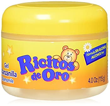 Manzanilla Ricitos de Hair Gel  Alcohol-Free Hair Care Gel for Daily Use Gentle Gel with Chamomile Extract  4.0 Ounces