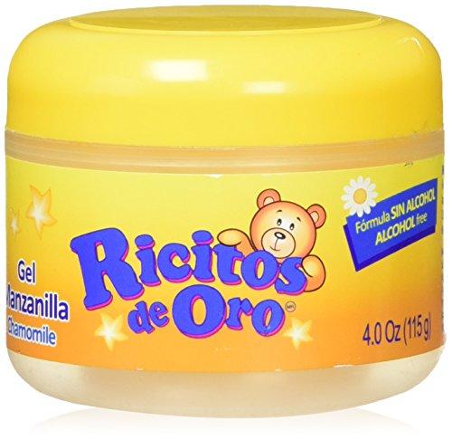 Manzanilla Ricitos de Hair Gel| Alcohol-Free Hair Care Gel for Daily...