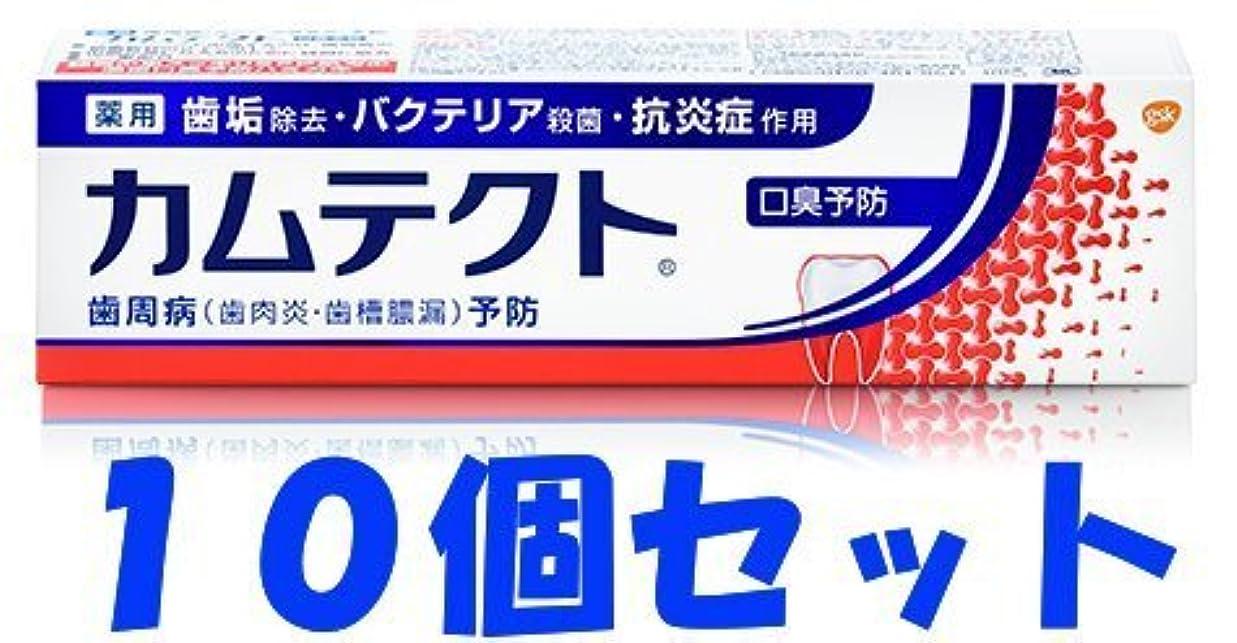 チャンピオンシップ症候群忌避剤【10個セット】カムテクト 口臭予防 105g