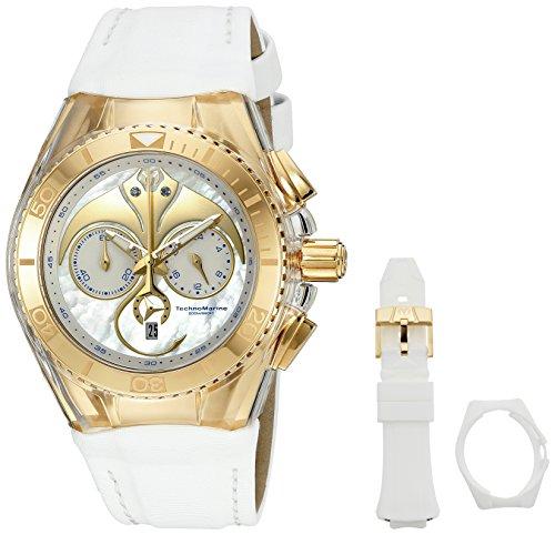 Technomarine Women's 'Cruise Dream' Quartz Stainless Steel Casual Watch (Model: TM-115004) - http://coolthings.us