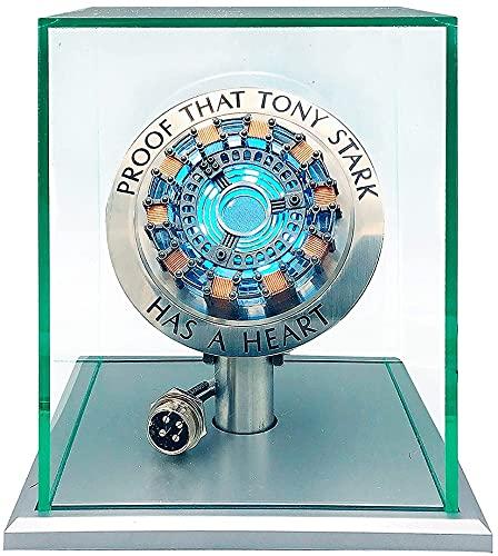 Cacowap 1pcs Iron Man Reactor Chest Light Luce Respiratoria 1: 1 Arc Reactor Mk1 Decorazione Modello