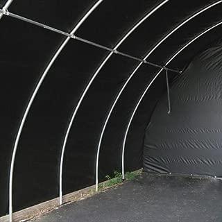 TekSupply 108602 Black44; White Silage Film 5 mil - 40 ft W x 100 ft L
