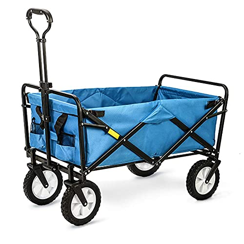 Z-SEAT Carrito de Mano Plegable para Pesca en la Playa, Compras, supermercado, Carrito de Compras, Remolque, Carga de 80 KG, 3 Colores Disponibles