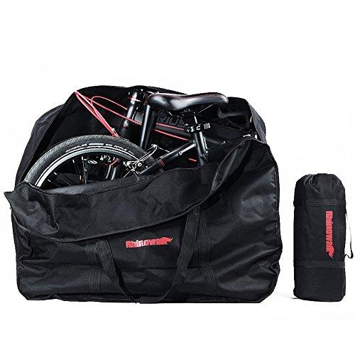 折りたたみ自転車 収納 バッグ 輪行バッグ 16〜20インチ対応 専用ケース付き 輪行袋 サイクリング ツー...