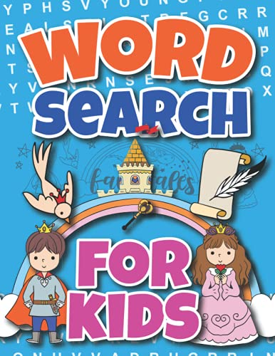 Word Search For Kids: Fairytales