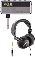 Vox AP2CR 2 amPlug Headphone Guitar Amplifier (Classic Rock) Bundled with Over-Ear Headphones (2 Items)