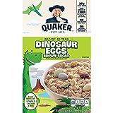 Quaker, Instant Oatmeal, Dinosaur Eggs Brown Sugar, 8 Ct, 14.1 Oz