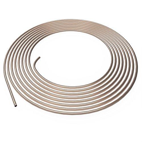 Bremsleitung Ø 4,75 mm Kupfer/Nickel Kunifer mit ABE Allgemeiner Betriebserlaubnis 1m 2m 3m 5m oder 10m Auswahl: (5 Meter)