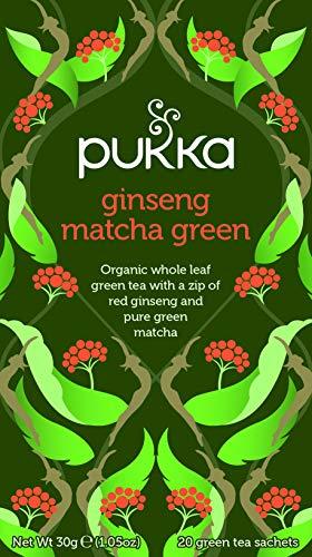 Pukka Herbs Ginseng Matcha Verde 20 Bustina