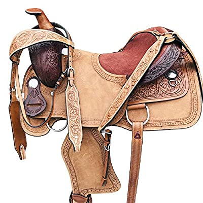 Western Horse Saddle Trail Pleasure Roper Ranch Leather Tack