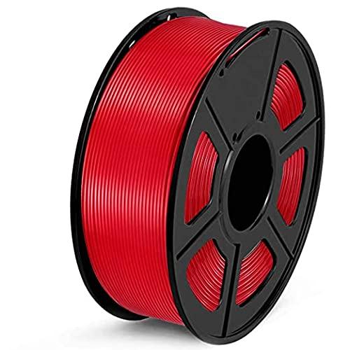 Queta PLA Filament 1.75mm, 3D Drucker Filament für 3D Printer, 1,75mm PLA Filament, 1kg Spule (Rot)