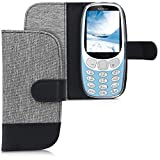 kwmobile Wallet Case Compatible with Nokia 3310 3G 2017 /