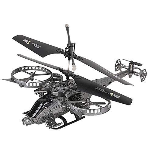 KRCT Alta de la simulación de Combate RC Modelo de helicóptero eléctrico Recargable 2.4G helicóptero teledirigido con luz LED Profesional RC Propulsor Plano de Juguete for niños y Adultos