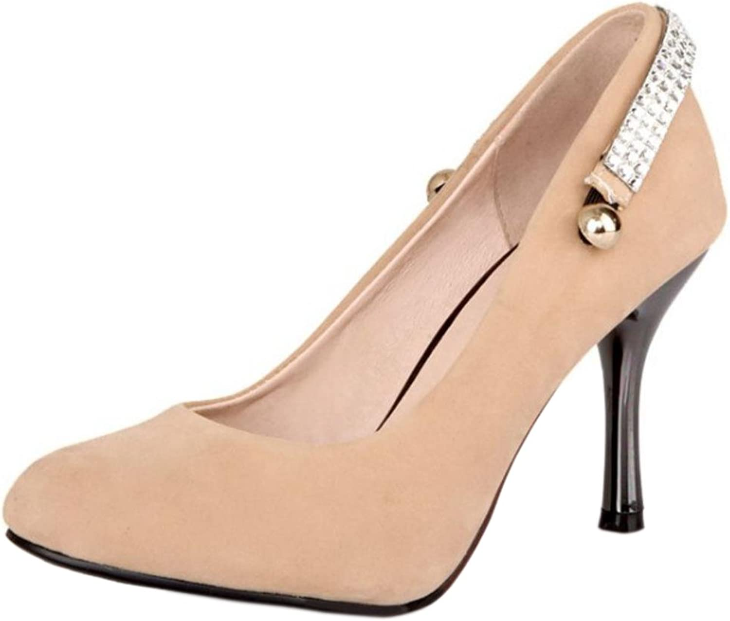 FANIMILA Women Elegant High Heel Pumps