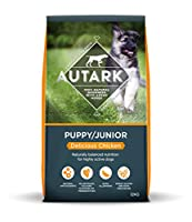 Puppy/junior (delicious chicken) has been designed with smaller kibbles for smaller mouths; this tasty chicken recipe provides high quality protein and is, balanced to supply moderate energy levels which encourage steady growth 28 percent protein, 16...