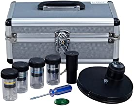 OMAX Phase Contrast Kit with Turret Control and Four Plan Phase Contrast Objectives (10X, 20X, 40X, 100X)