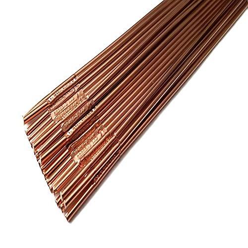 KISWEL 3LBS ER70S-2 Mild Steel TIG Welding Filler Rod 3/32'1/8'x 36' 3LBS (1/8')