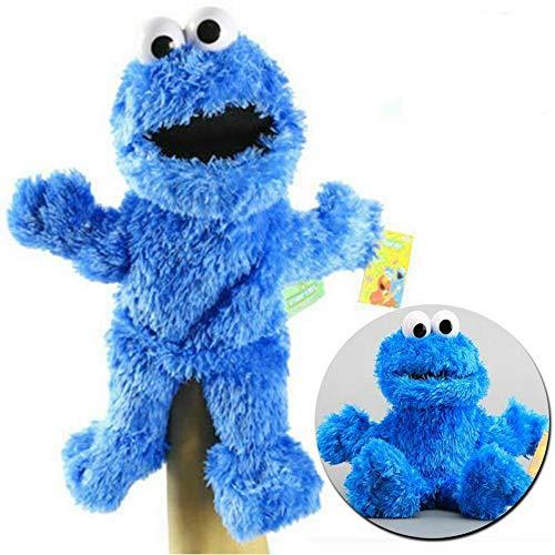 NOBRAND Barrio Sésamo El Show De Los Muppets,Juguete De Peluche Sesame Plush Hand Puppet Toy Sesame Street Plush Cookie Monster Hand Puppet Play Games Doll Toy Puppets Toy Educativo para Niños 31cm