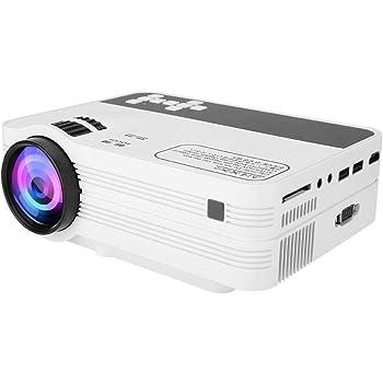 Proyector, mini proyector portátil con pantalla 1080P y 170 ...