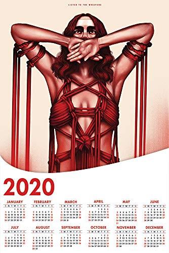 prindesign Suspiria - 2020 Calendar Movie Poster Wall Decor Filmplakatkalender - 43 X 63 cm