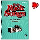 Kult-Rocksongs der 70er-Jahre - 30 Klassiker, arrangiert für Piano - Eagles, Elton John, Rod Stewart, Supertramp uvm. - Klaviernoten mit...