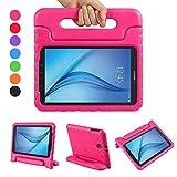 LEADSTAR Samsung Galaxy Tab E 9.6 EVA Etui Poignée Stand Étui Enfants Housse Antichoc Protecteur Kids Coque Anti-Chocs pour...