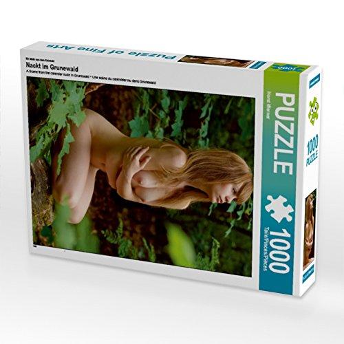 CALVENDO Puzzle Nackt im Grunewald 1000 Teile Lege-Größe 48 x 64 cm Foto-Puzzle Bild von Horst Werner