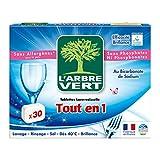 L'Arbre Vert - Tablettes Lave-Vaisselle tout en 1 - 30 Doses