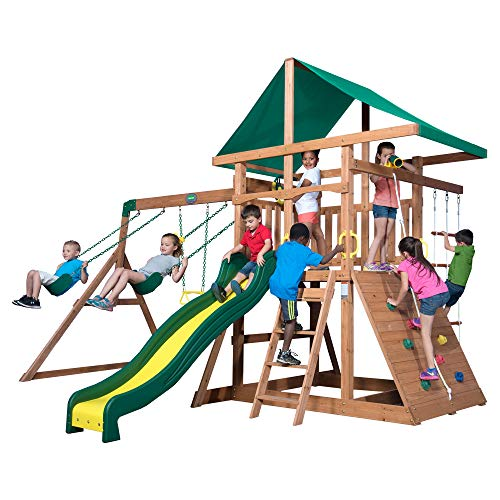 Backyard Discovery Cedar Swing Set
