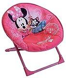 Fun House 712811 Disney Minnie Siège Lune Pliable pour Enfant, à partir de 3 Ans