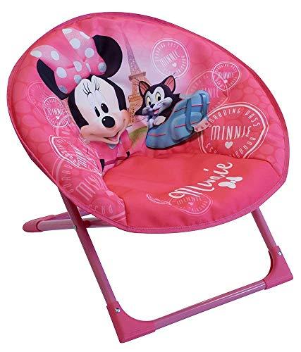 Fun House 712811 Disney Minnie Mond Kindersitz, Rosa, à partir de 3 ans